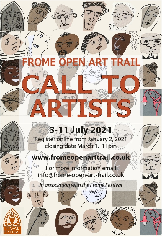 Call to Artists Evolver Advert