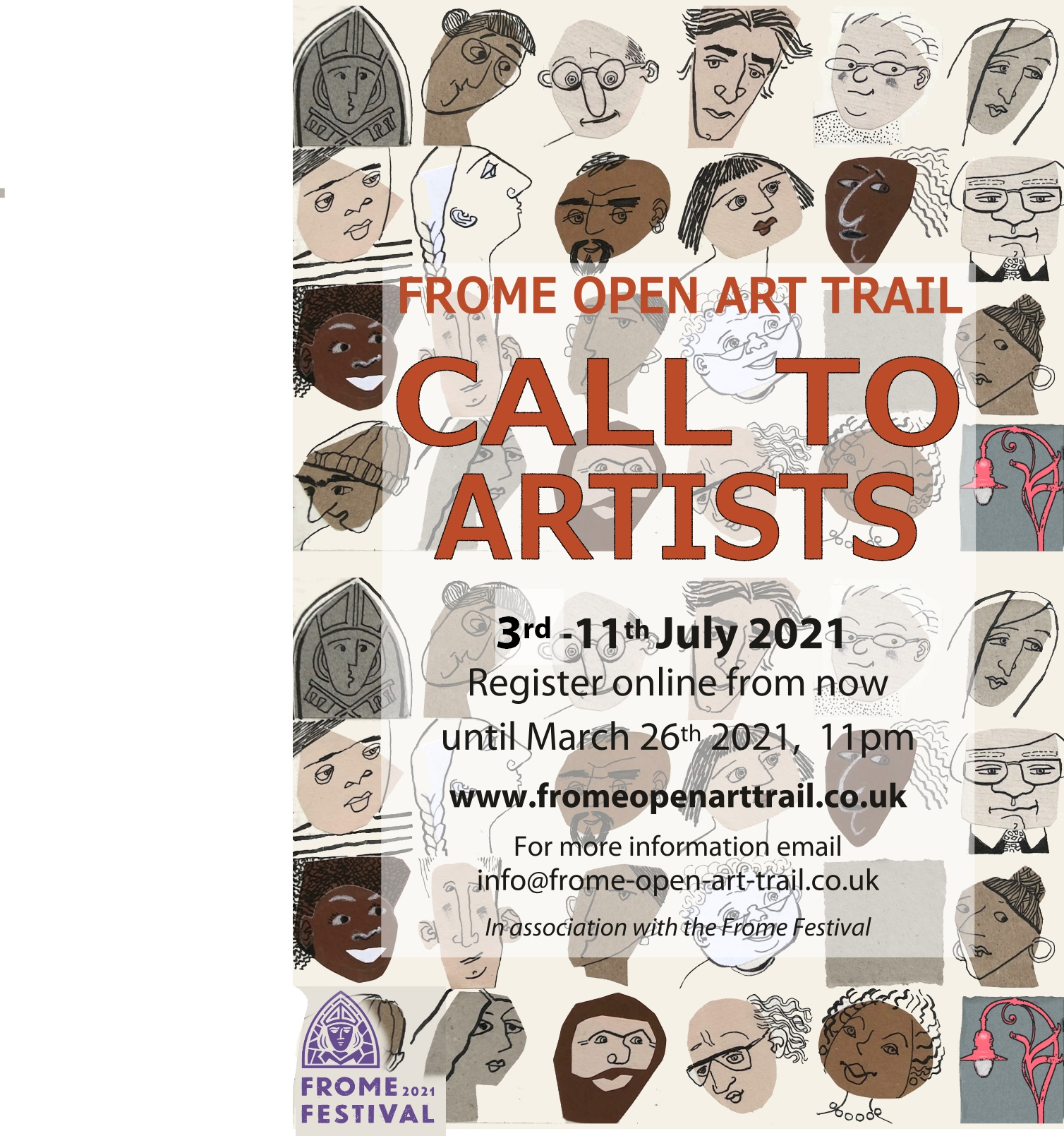 Call to Artists Evolver ad updated final